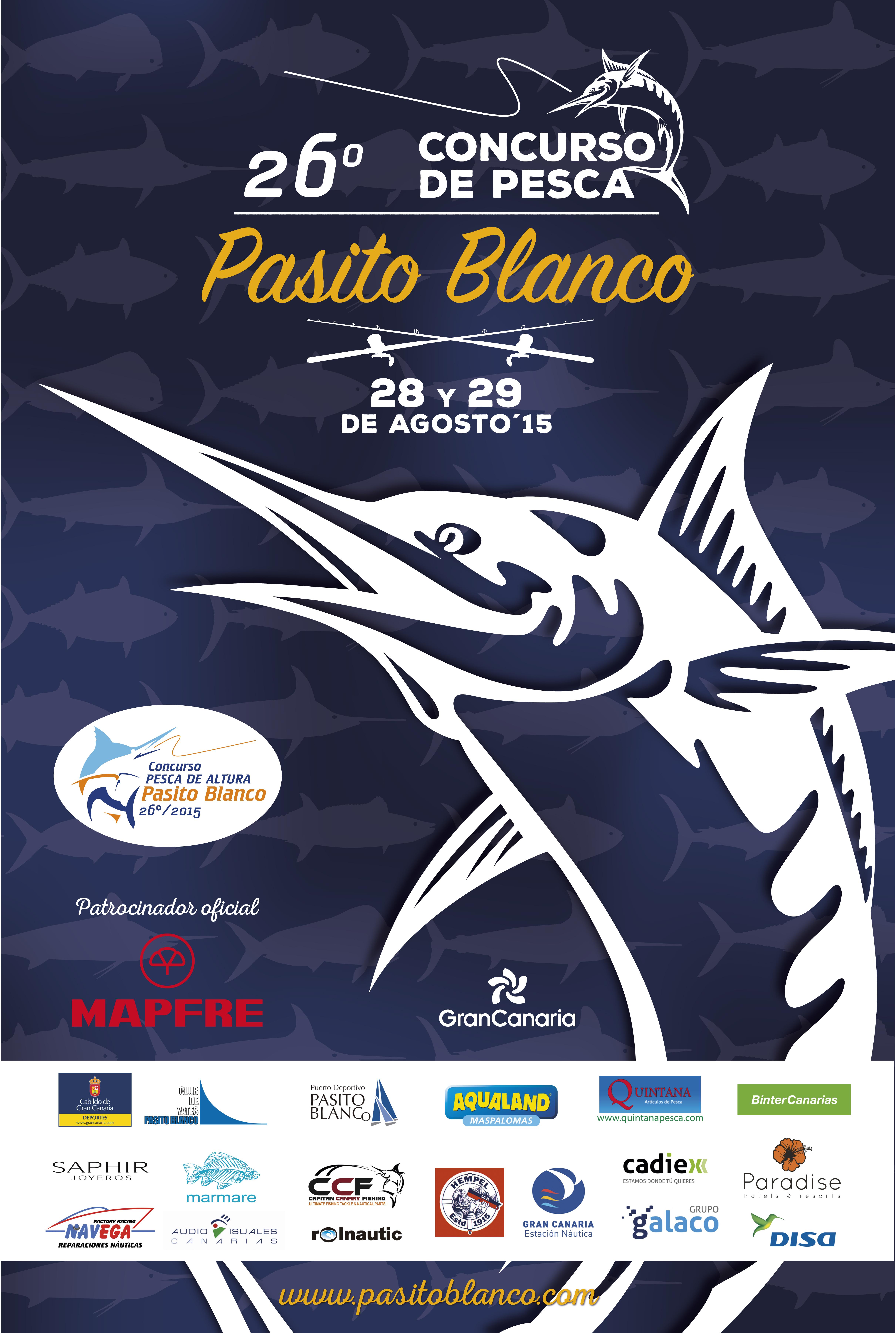 Cartel Concurso de pesca 2015