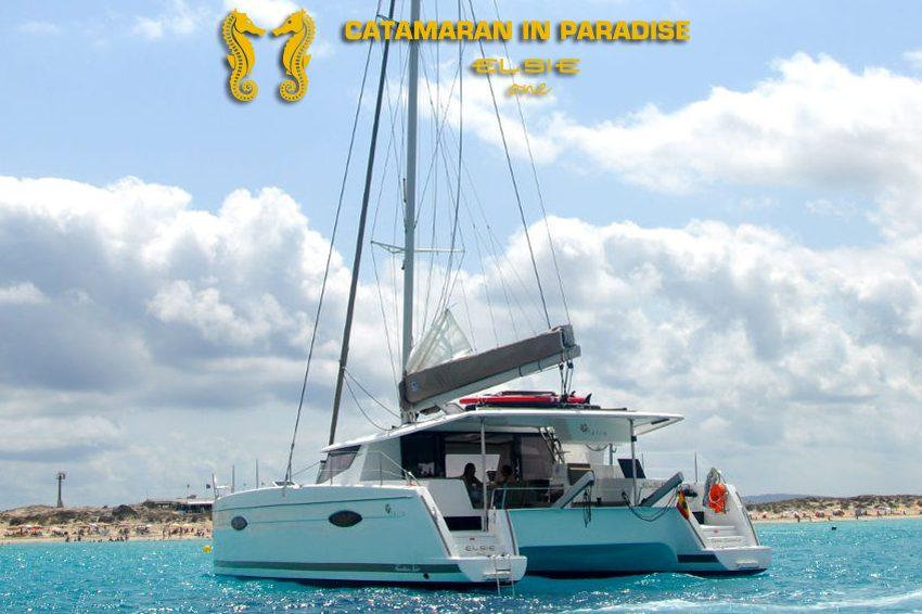 Catamarán in Paradise