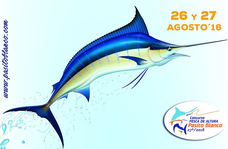 Cartel definitivo del XXVII Concurso de Pesca de Altura Pasito Blanco 2016
