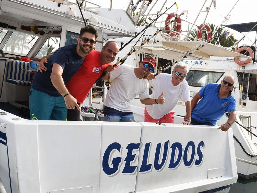 Victoria del GeluDos en el 28º Concurso de Pesca de Altura Pasito Blanco