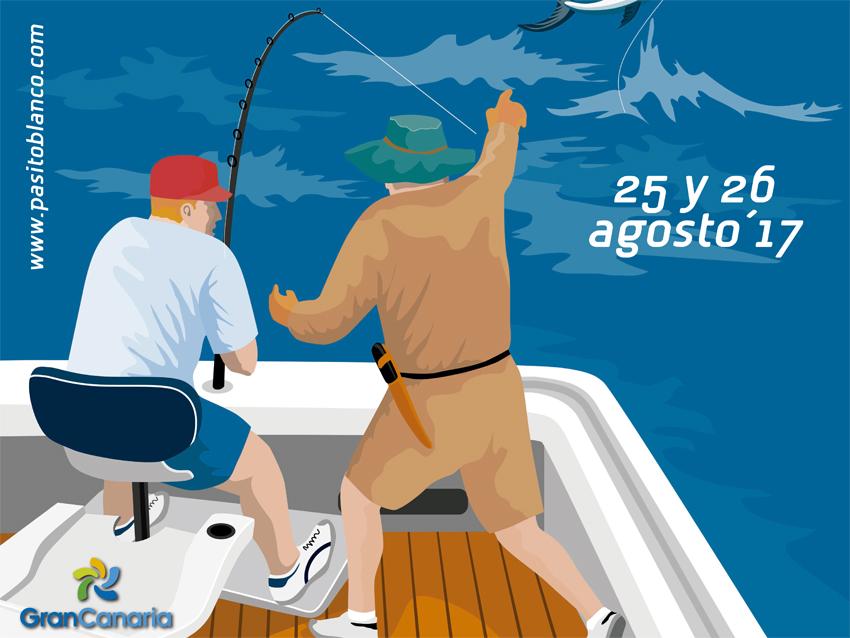 El XXVIII Concurso de Pesca de Altura Pasito Blanco presenta el cartel 2017