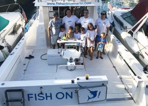 Fish on - Concurso de Pesca Pasito Blanco
