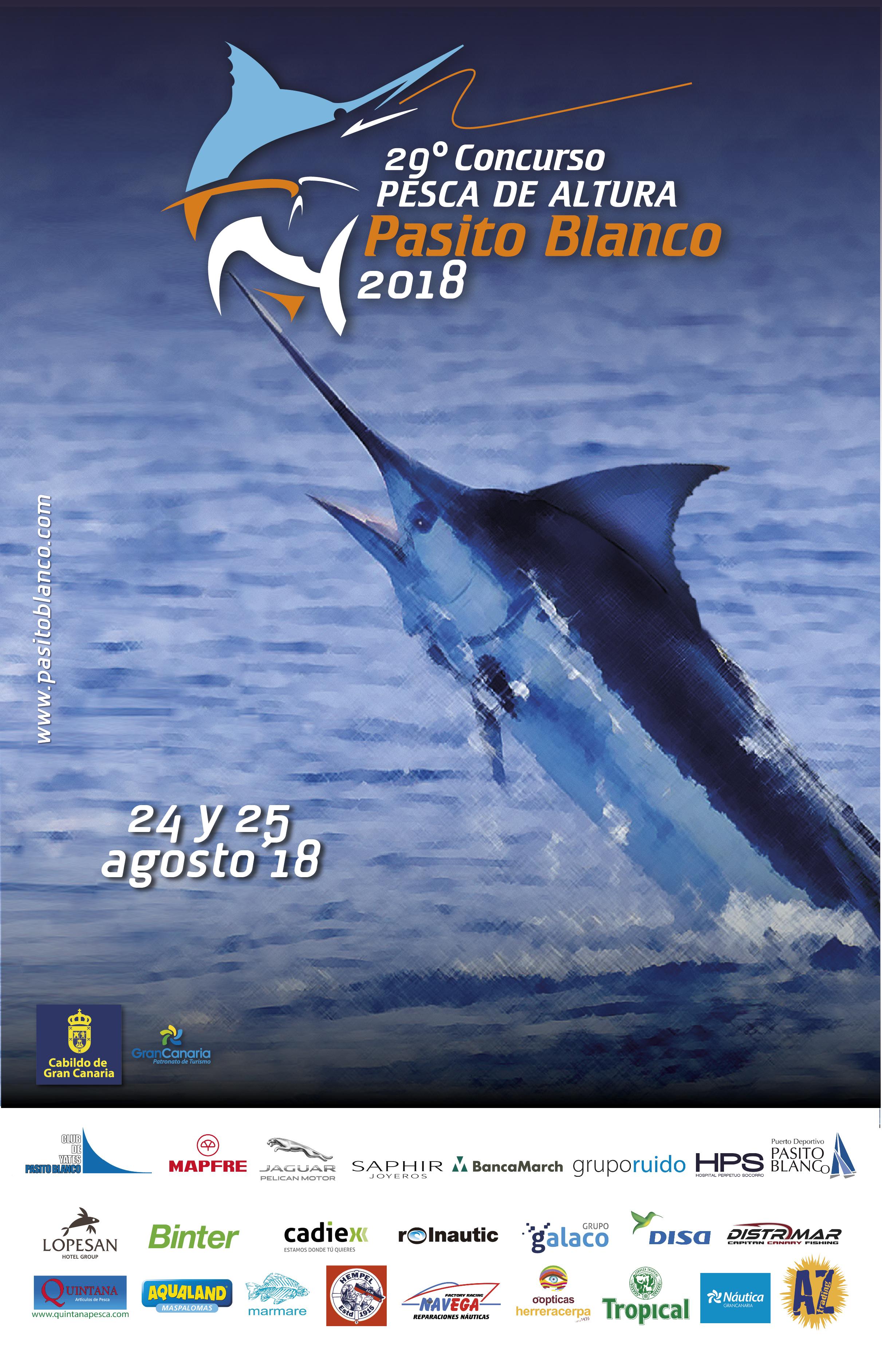 29º Concurso de Pesca Pasito Blanco