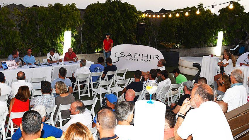 Reunión de Patronees, concurso de Pesca de Altura Pasito Blanco