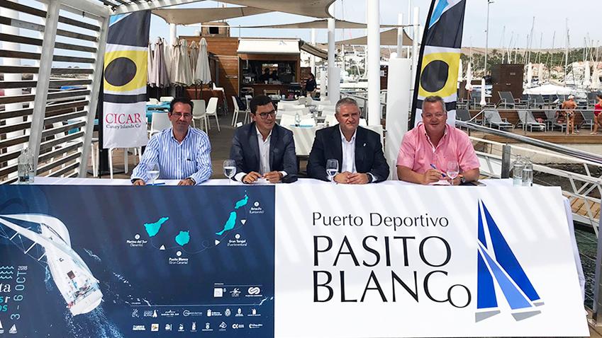 Presentación en La Punta Yacht Club de la IV Regata Puertos Canarios