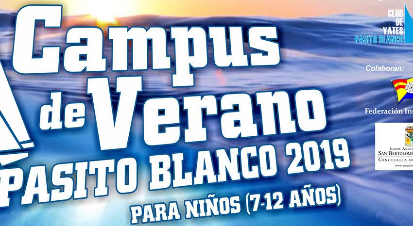 El Campus de Verano Pasito Blanco 2019 a punto de abrir sus plazas