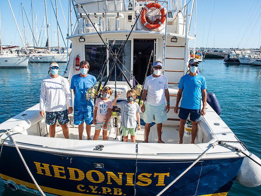 El Hedonist captura un Blue Marlin y se sube al podio ganador del Concurso de Pesca de Altura Pasito Blanco