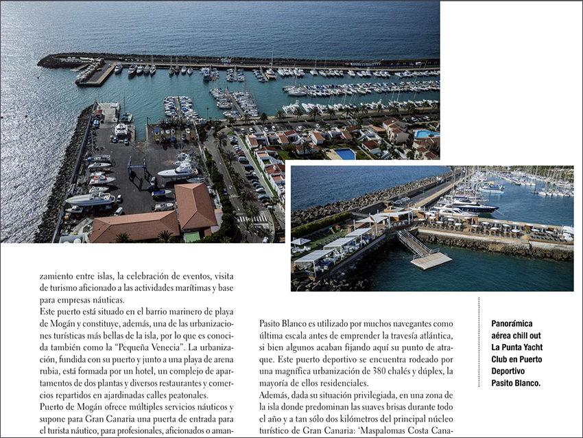 La revista 'Skipper' destaca la ubicación y servicios para navegantes de Pasito Blanco
