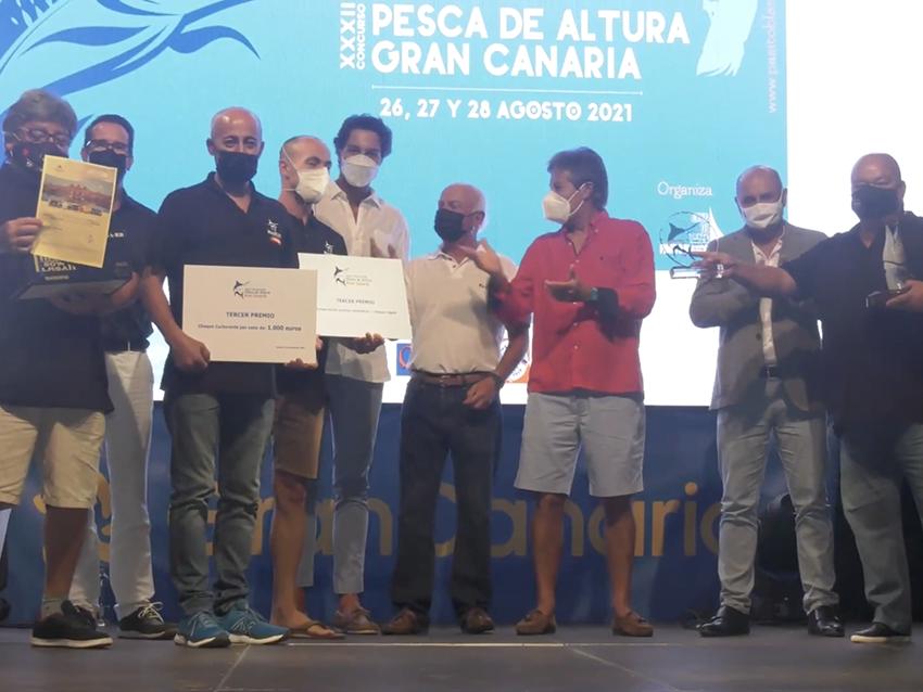 Vídeo del evento de Clausura y Entrega de Premios del I Open Internacional Pesca de Altura