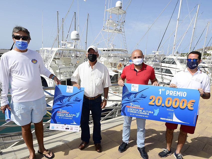 El primer Open Internacional de Pesca de Altura Gran Canaria presenta su cartel